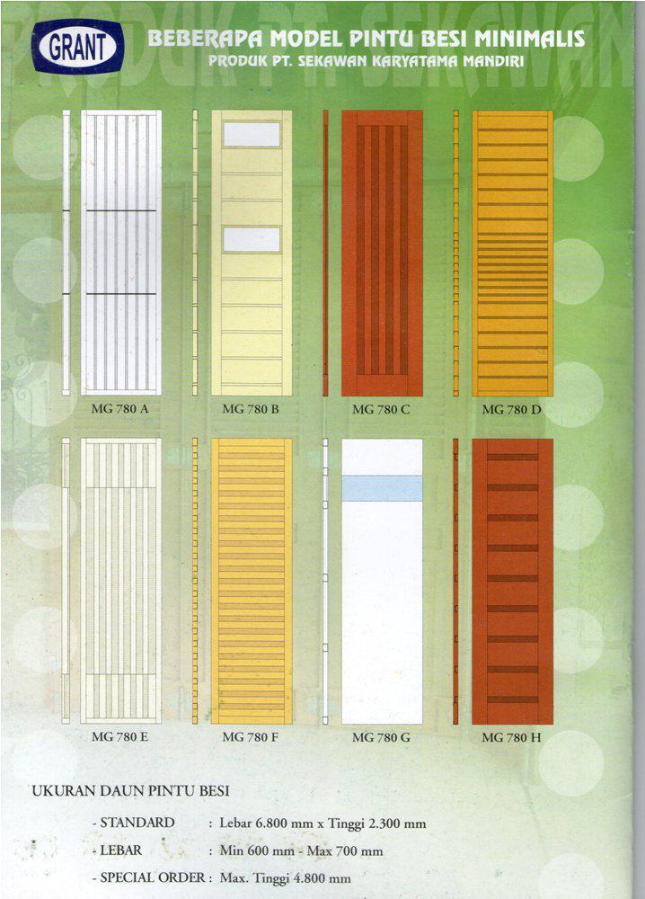 tipe pintu garasi grant 4