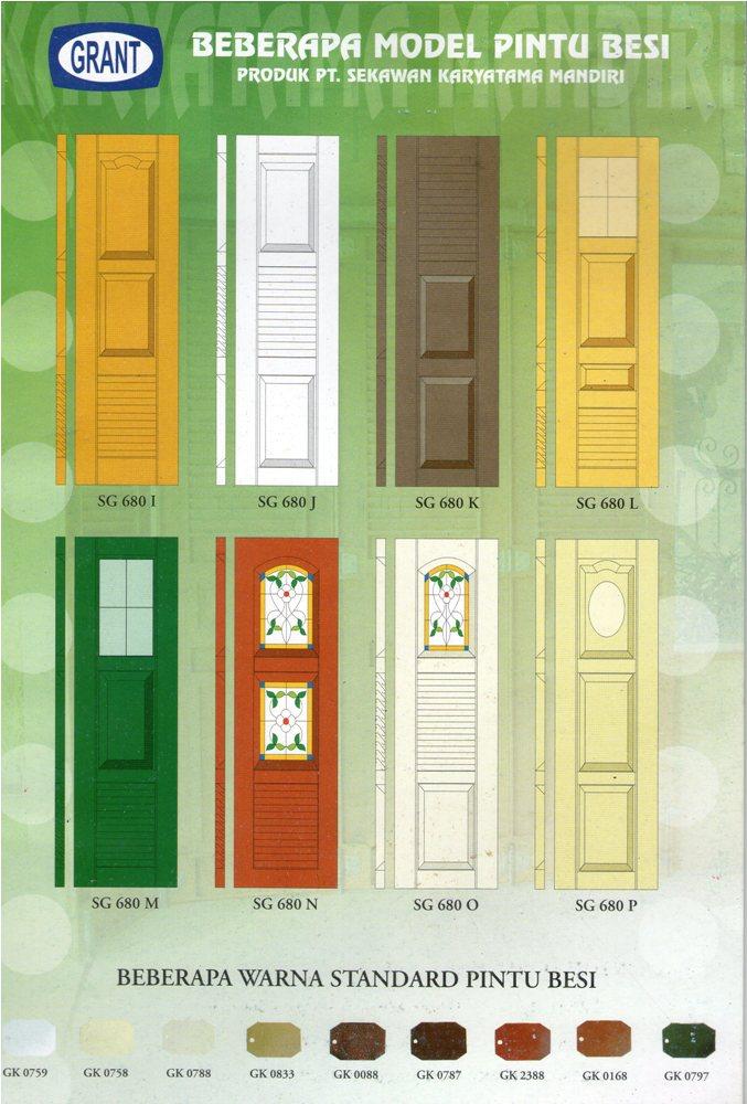 tipe pintu garasi grant 2